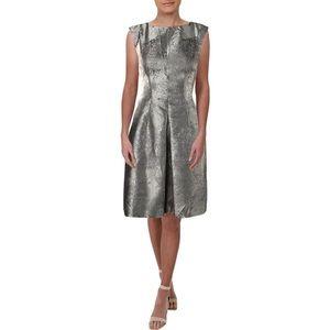 NWT Anne Klein Metallic Cocktail Dress